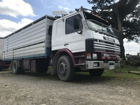 1993 SCAINA P93M COMPLETE WITH 6.4M DECK AND CRATE