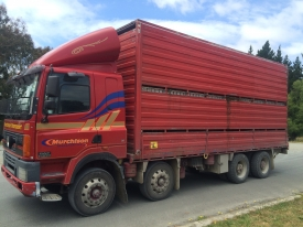 2001 DAF 85CF & 7.3m STOCK DECK