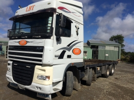 2011 DAF 105 XF COMPLETE WITH LIVESTOCK DECK