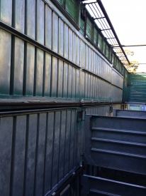 8.5m OR(28ft) 2/3 DECK 4 PEN TRAILER CRATE