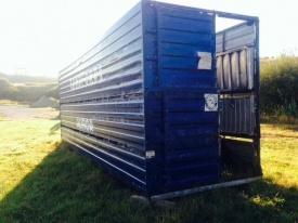 8.5M (28FOOT) TRAILER CRATE