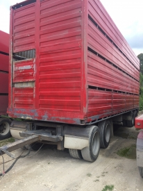 8.8m (29ft) TRAILER & CRATE
