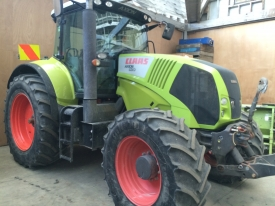 CLAAS 820 TRACTOR 4X4 FRONT HITCH & PTO