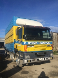 DAF CF 85 COMPLETE WITH FLAT DECK
