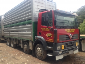 FODEN A3-8R TIPPING DECK AND SIDES NO CRATE