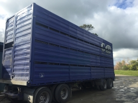 Fruehauf 30ft (9.1m) and 2/4 deck crate
