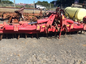 Pottinger 5 finger fold up power harrow