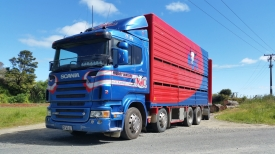 SCANIA  R580 & 2/3 DECK CRATE
