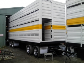 STAINLESS STEEL FOLDED TRAILER GURADS & MUDFLAPS