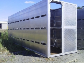 TOTALSTOCK CRATES 29ft 2/4 DECK