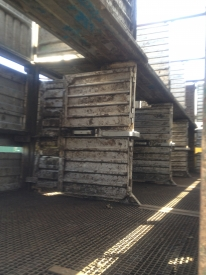 TWO DECK TRAILER CATTLE CRATE 8.8M