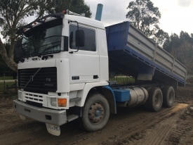 VOLVO F12 DROP SIDE TIPPER